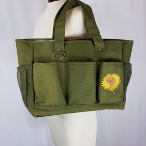 Handbags - Sunflower Oversized Military Style Tote Bag